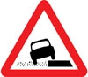 Soft verges ahead